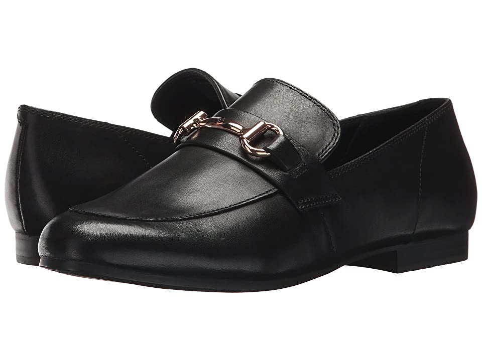 Steve Madden Kerry Dress Loafer (Black Leather) Women