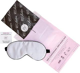 PJ Collective Silk Sleep Mask | Premium 100% Mulberry Silk Eye Mask For Sleeping | Adjustable Strap | Eco Gift Wrapped (Si...