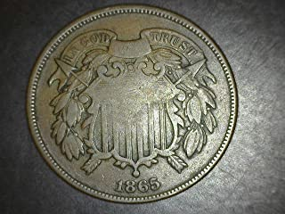 1865 Two Cent 2c VG