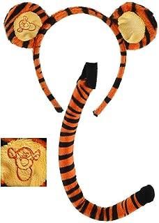 Elope Winnie the Pooh Tigger Ears Costume Headband and Tail Set