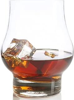 taylor d milestones reserve whiskey glass