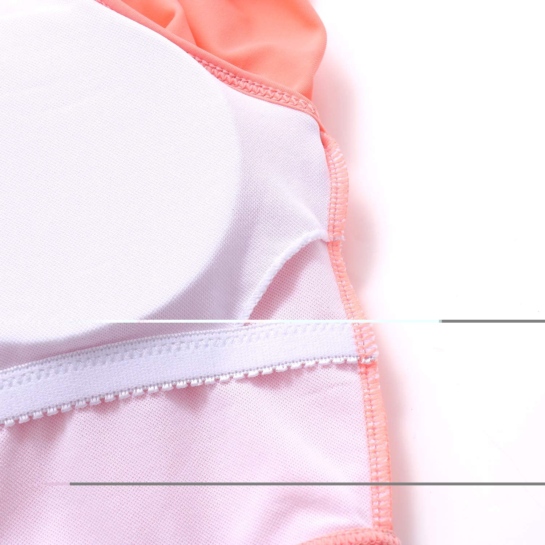 MOOSLOVER Women's Ruffle Tankini Top Ruched High Waisted Bikini Bottom Plus Size Two Piece Swimsuit
