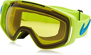 Nike Khyber Goggles, Volt/Photo Blue Frame, Transitions Yellow Lens