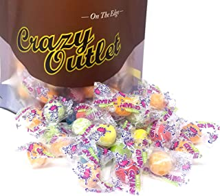 CrazyOutlet Pack - Concord Cry Baby Extra Sour Bubble Gum, Individually Wrapped Chewing Gumballs, 2 lbs