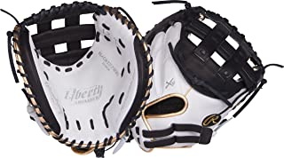 Rawlings Liberty Advanced 33 Inch RLACM33FPWBG Fastpitch Softball Catcher's Mitt