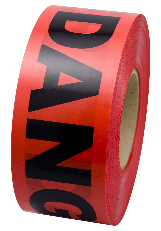 Incom BT5057 Manufacturing: Red DANGER Tape Barrier- Safety Warn