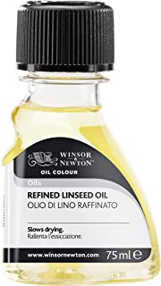 Winsor & Newton 3021748- Aceite de linaza Refinado, 75 ml