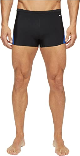Surge Color Block Poly Square Leg Brief
