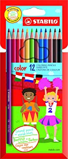 Colouring Pencil - STABILO color - Wallet of 12 (Assorted Colours)