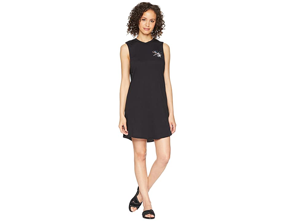 Hurley Fly By Para Muscle Tank Dress (Black) Women