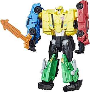 Transformers Toys Autobot Team Combiner Pack - 4 Figure Gift Set – Figures Combine into a Super Robot - Toys for Kids 6 an...
