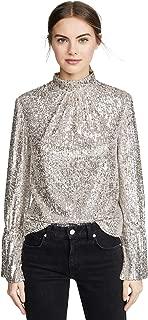 Zadig & Voltaire Women's Tummy Sequins Long Sleeve Top