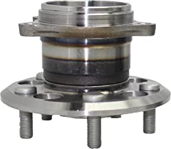 Detroit Axle - REAR AWD Wheel Hub and Bearing Assembly for 2004-10 Toyota Sienna AWD 5 Bolt W/o ABS 512281