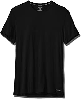 Calvin Klein Men's Ultra Soft Modal Crew Neck T-Shirts