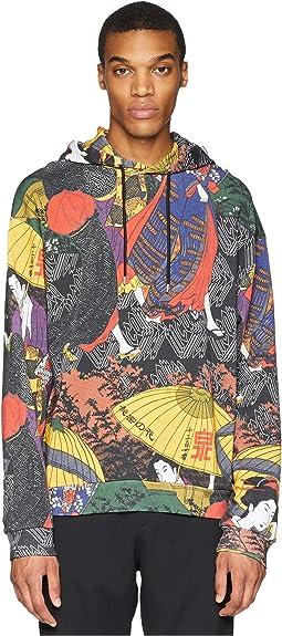 Japanese Print Hoodie