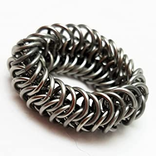 historical chainmail ring size