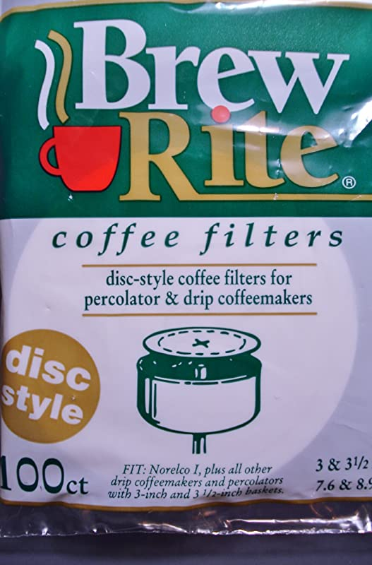 Disc Coffee Filter 3 5 And 3 Percolator Full Case 1 200 Count Ct Brew Rite