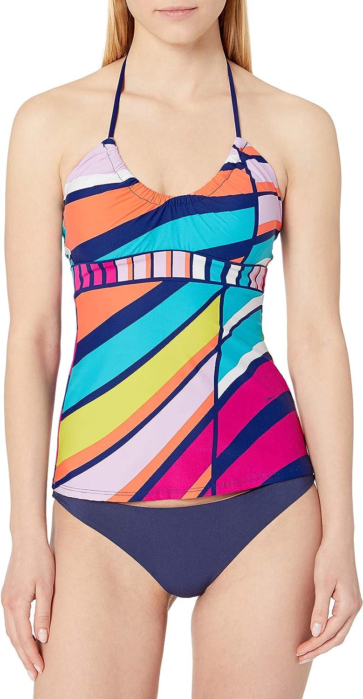 Trina Turk Women's Standard Halter Tankini Swimsuit Top