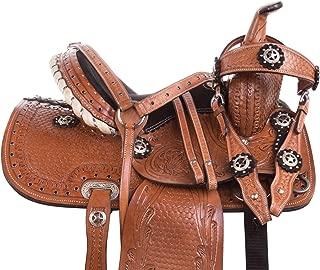 extra wide pony saddle