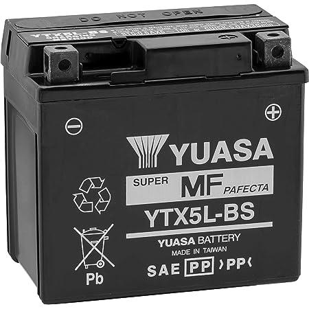 YUASA Ytx5L-Bs Maintenance Free 12 Volt Battery~1993 Suzuki LT80 QuadSport