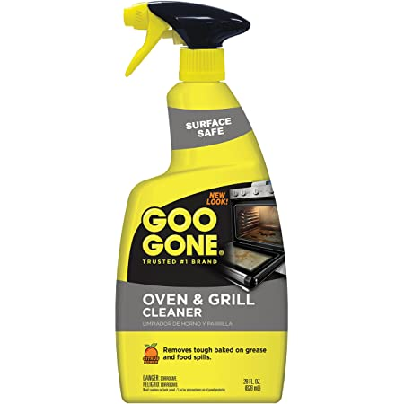 Goo Gone Oven and Grill Cleaner - 28 Ounce - Removes Tough Baked On Grease and Food Spills Surface Safe