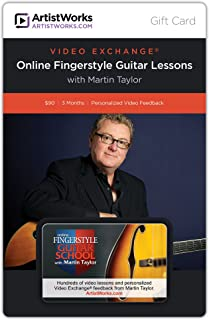 ArtistWorks Gift Card - Online Fingerstyle Guitar School with Martin Taylor