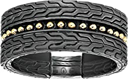 Chain Jawan 10mm Blackened Band Ring