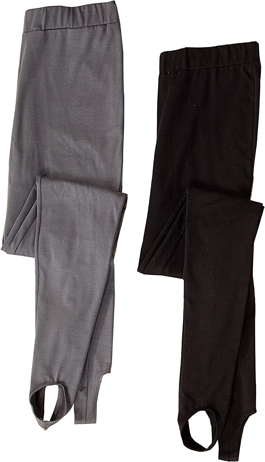 The Lakeside Collection Women's 2-Pack Stirrup Legging Pants