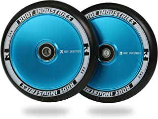 Root Industries Scooter Wheels 120mm (AIR) - Pro Scooter Wheels (Pair) - Scooter Wheels - Fits Most Setups - 24mm x 120mm - Bearings Installed - 90 Day Warranty - 120mm Scooter Wheels - Scooter Parts