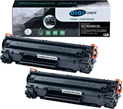 TonerPlusUSA High Yield New Compatible Canon 128 CRG128 Laser Toner Cartridge Replacement (Black, 2 Pack)