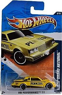 Hot Wheels Buick Grand National 139/244, Yellow