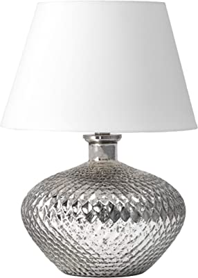 """nuLOOM Alhambra 19"""" Glass Table Lamp"""