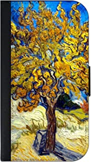 Artist Vincent Van Gogh's Mulberry Tree - Wallet Phone Case for The iPhone 10 XR - iPhone 10 XR Wallet Case - iPhone XR Wallet Case