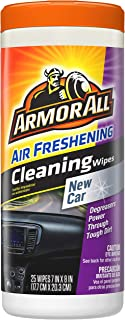Armor All Air Freshening Cleaning Wipes - New Car (25 count)