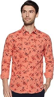 ABOF Men's Floral Slim Fit Casual Shirt