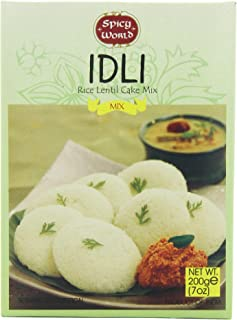 Spicy World Instant Idli Rice Lentil Cake Mix, 7-Ounce Boxes (Pack of 10)