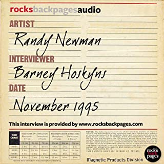 Randy Newman Interviewed by Barney Hoskyns