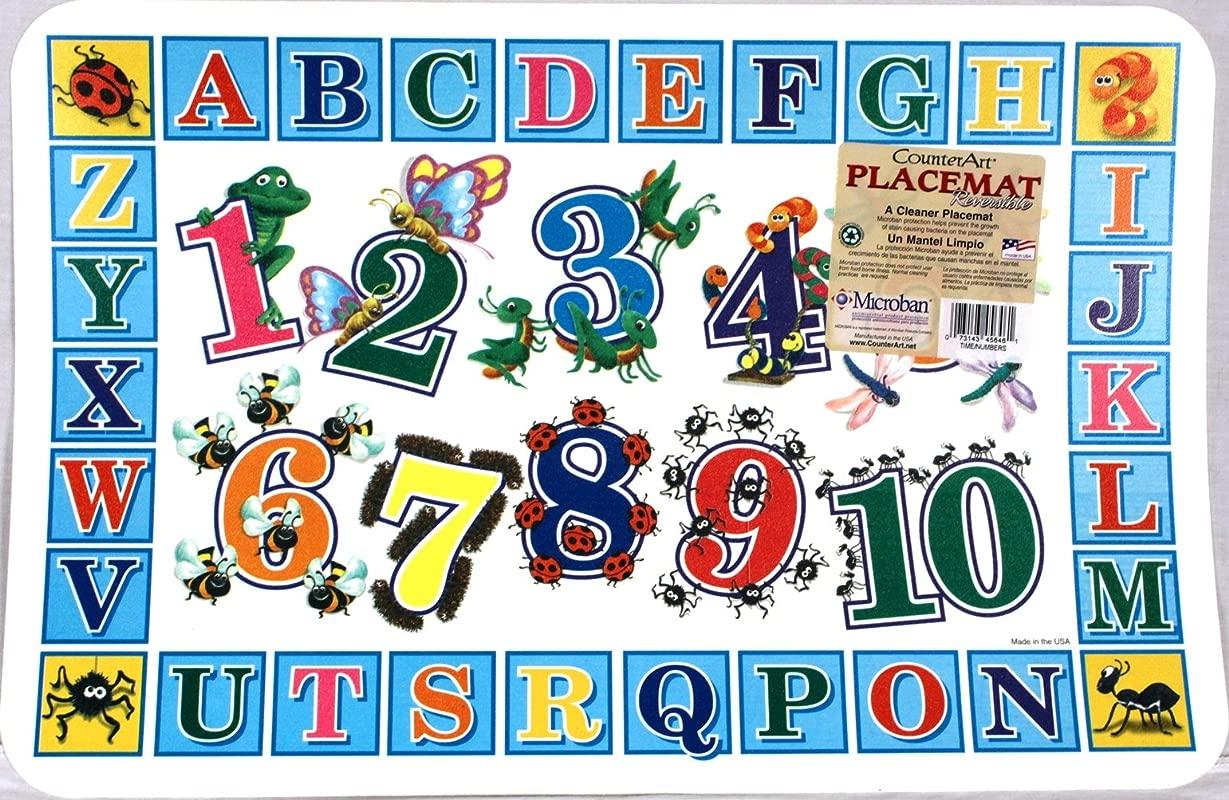 Reversible Placemat 123 S ABC S