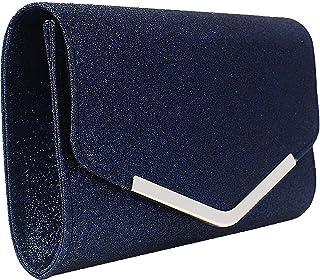 Amazon.es: Azul - Carteras de mano y clutches / Bolsos para ...
