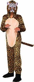 Forum Novelties 80965 Leopard Jumpsuit And Mask Child's Costume, Medium, Leopard