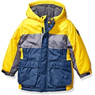 Boys' Heavyweight Colorblock Puffer Coat