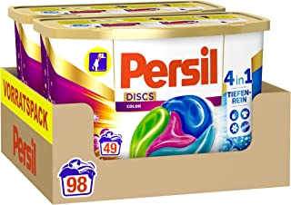 Persil 4in1 DISCS Color, kleurwasmiddel met dieptezuiver-technologie, 98 stuks