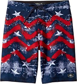 Hyperfreak Independence Boardshorts (Big Kids)