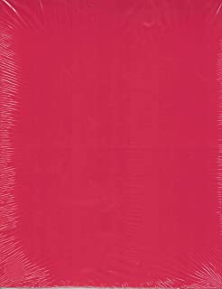 8.5x11 Red Apple Smooth Cardstock Paper 65# lb. 25 Sheets, Card Stock, Scrapbooking, Card Making, Rubber Stamping, Arts and Crafts, Construction Paper