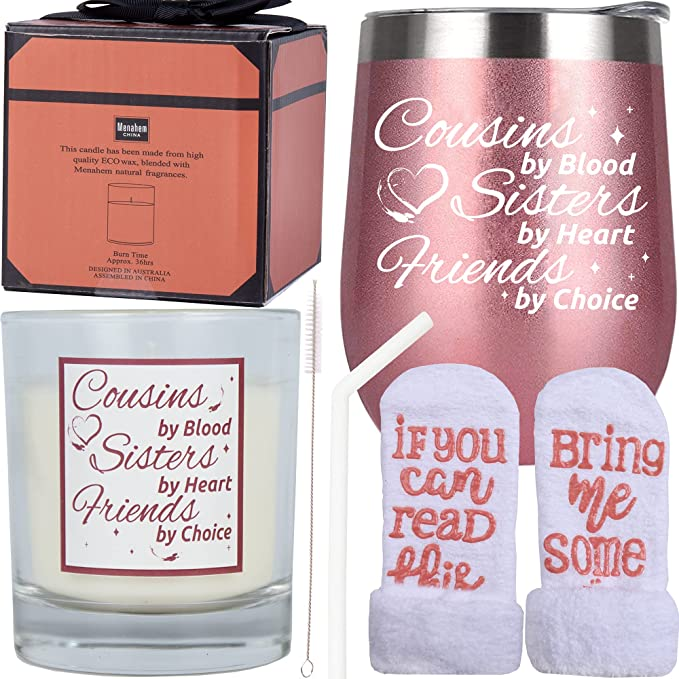 Favorite Cousin Gifts for Women, Gift for Cousin Female