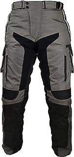 Newfacelook nero sbiadito motocicletta Motocicletta corazza Jeans Pantaloni Pantaloni rinforzati con aramide fodera di protezione