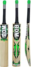 BDM Miller Kashmir Willow Wood Cricket Bat with Carry Case Adult Sizes Short Handle - Choose Weight