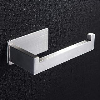 ZUNTO Portarrollos Baño Adhesivo Porta Papel Higienico Acero Inoxidable Porta Rollos de Papel Higienico Para Baños