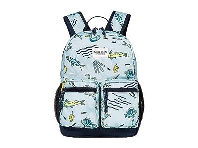 Burton Kids Gromlet 15L Backpack (Little Kids/Big Kids) (Gone Fishin) Backpack Bags