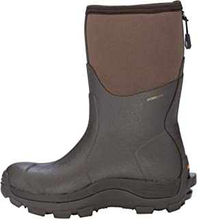 Dryshod Overland Mid Womens Foam Khaki/Timber Work Boots